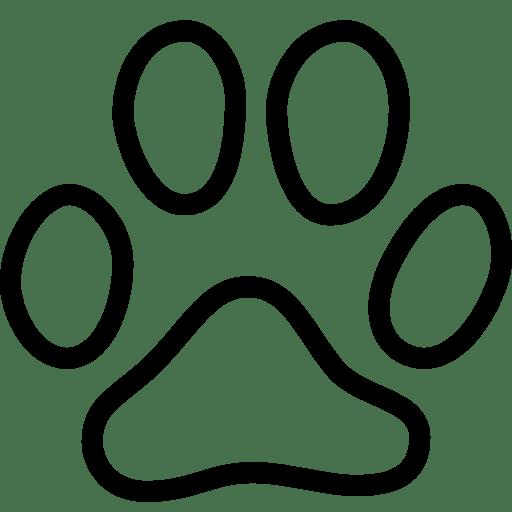 Animals-Cat-Footprint icon