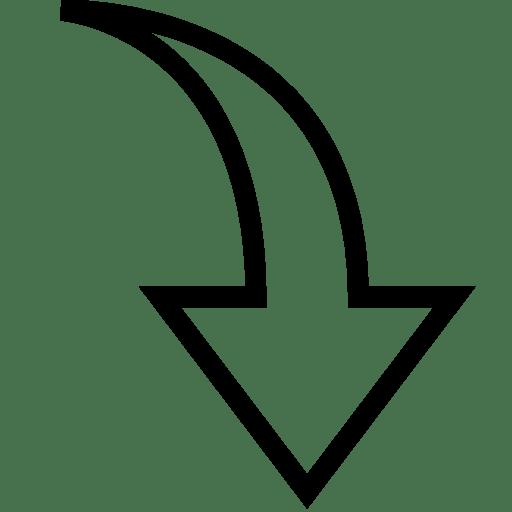 Arrows Down 2 icon