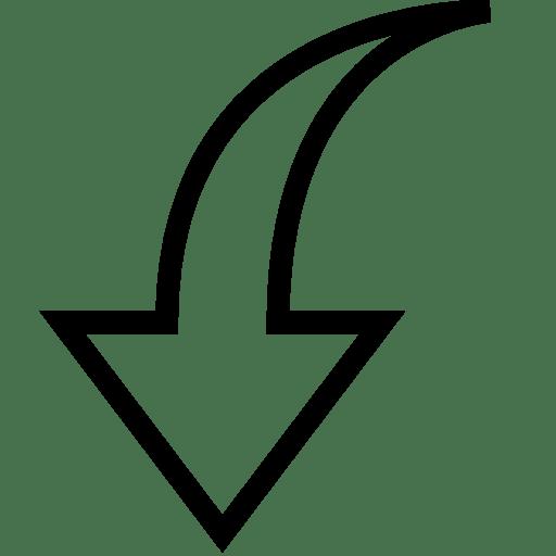Arrows-Down-3 icon