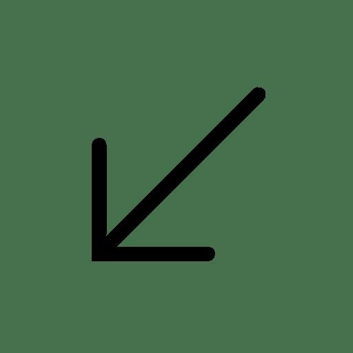 Arrows-Down-Left icon