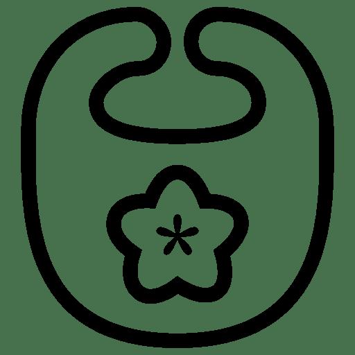 Baby Bib Icon   iOS 7 Iconset   Icons8