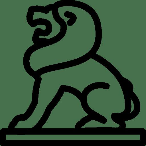 City-Lion-Statue icon