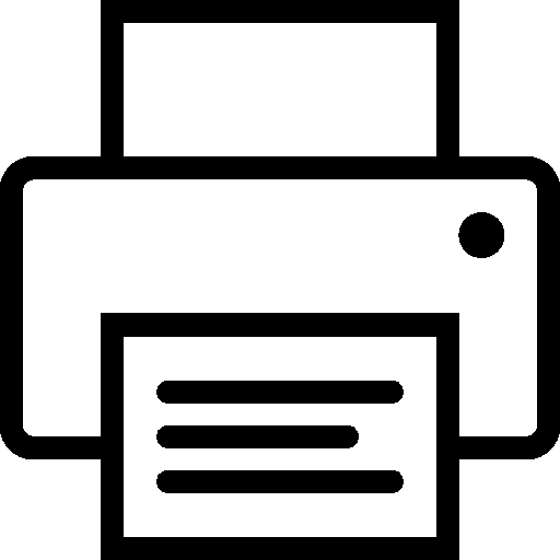 Computer-Hardware-Print icon