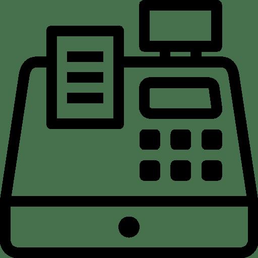 Ecommerce Cash Register icon