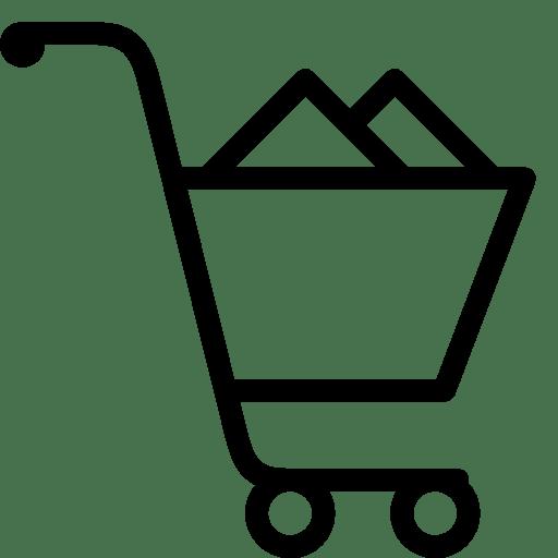 Ecommerce-Shopping-Cart-Loaded icon
