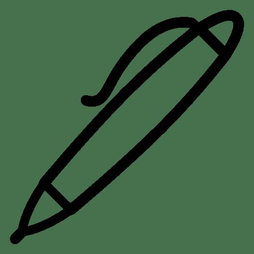 Editing-Ball-Point-Pen icon