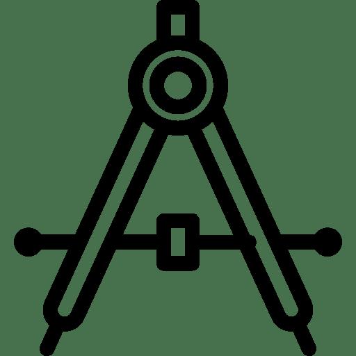 Editing-Drafting-Compass icon