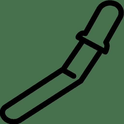 Food Pastry Spatula icon
