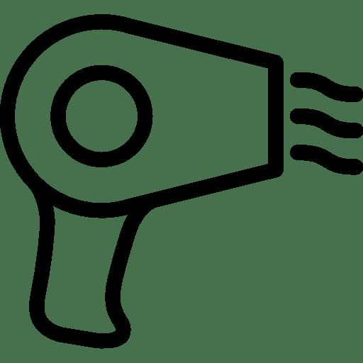 Hair-Hair-Dryer icon