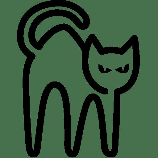 Holidays-Black-Cat icon
