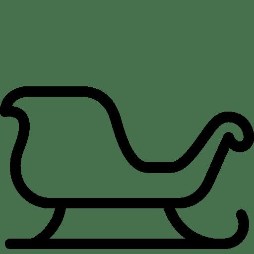 Holidays-Christmas-Sleigh icon