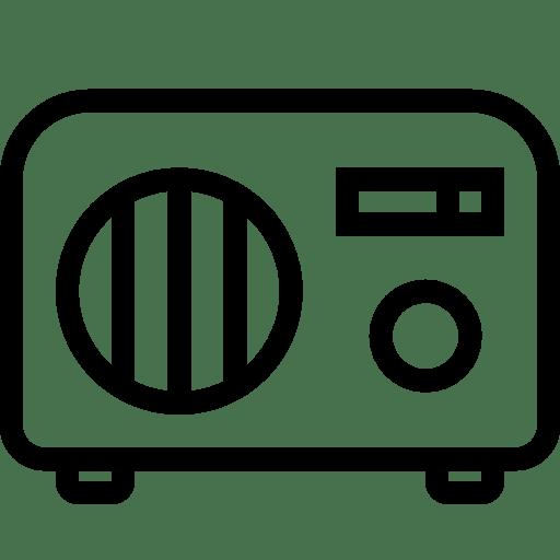 Household-Table-Radio icon