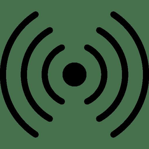 Industry-Rfid-Signal icon