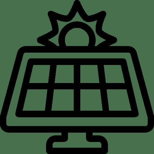 Industry Solar Panel icon