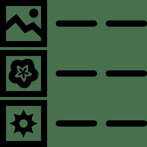 Logos Details icon