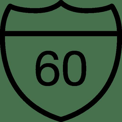 Maps Road icon
