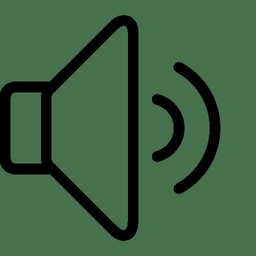 Media-Controls-Medium-Volume icon