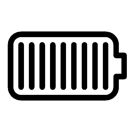 Mobile-Fully-Charged-Battery icon