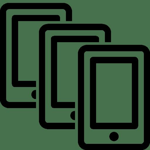 Mobile-Multiple-Smartphones icon
