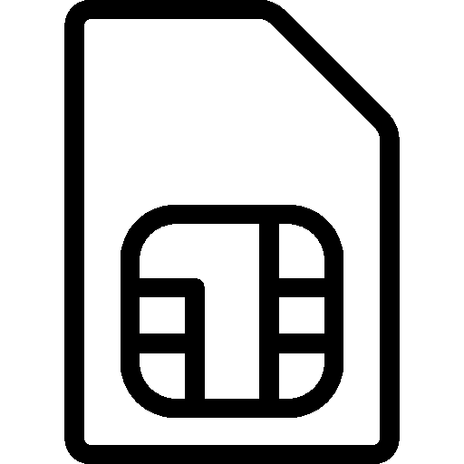Mobile-Sim-Card icon