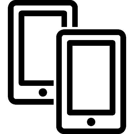 Mobile-Two-Smartphones icon