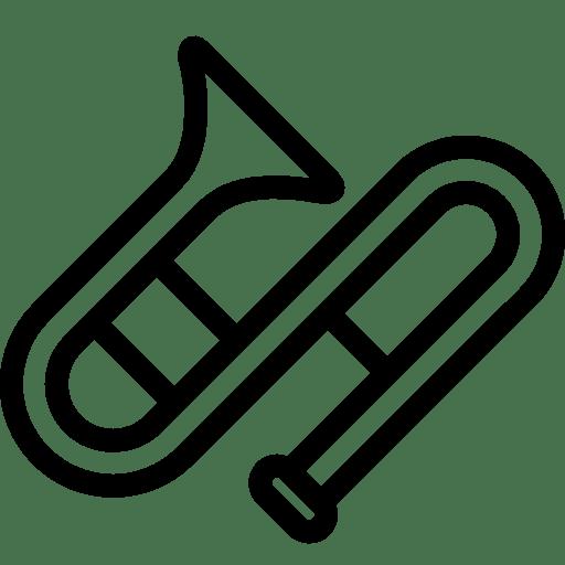Music Trombone icon