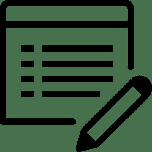 Programming-Edit-Property icon