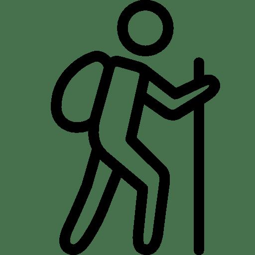 Sports Trekking Icon | iOS 7 Iconset | Icons8