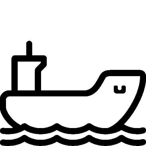 Transport Cargo Ship icon