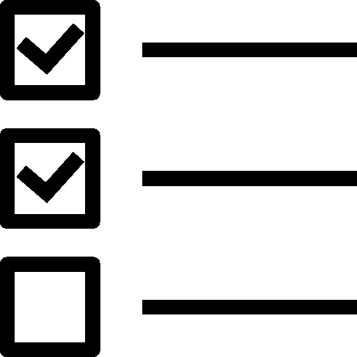 User-Interface-Checklist icon
