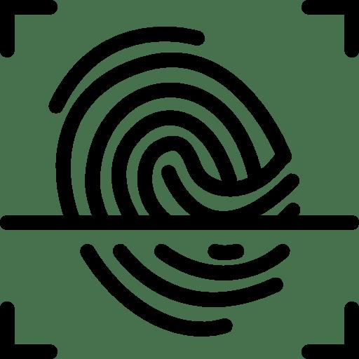 User-Interface-Fingerprint-Scan icon