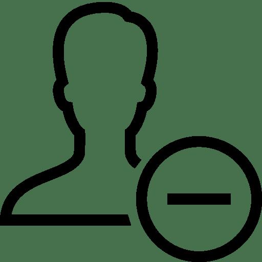 Users-Remove-User icon