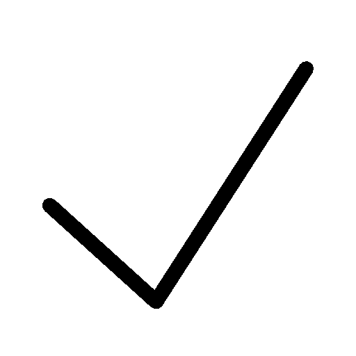 Very-Basic-Checkmark icon