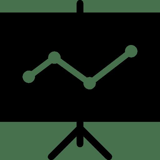 Very Basic Presentation Filled icon
