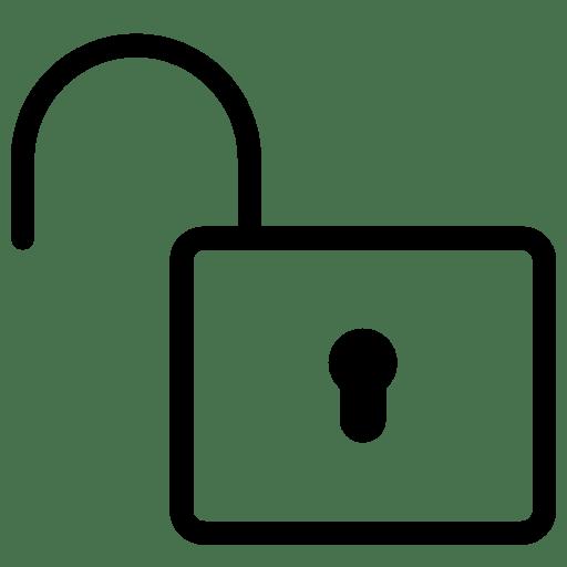 Very Basic Unlock icon