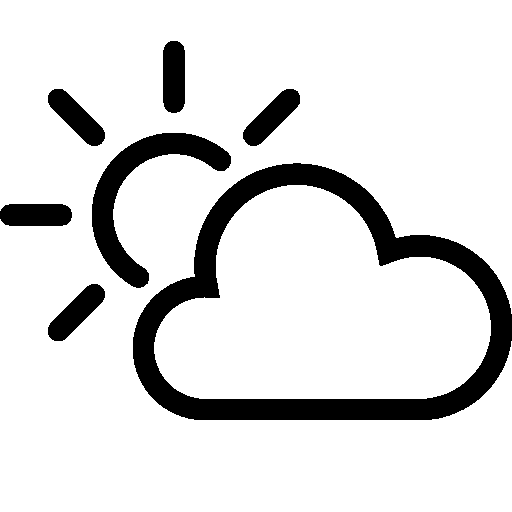 Weather-Partly-Cloudy-Day icon