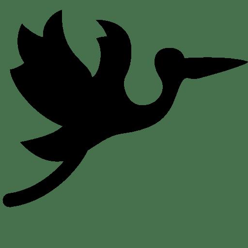 Baby-Flying-Stork icon