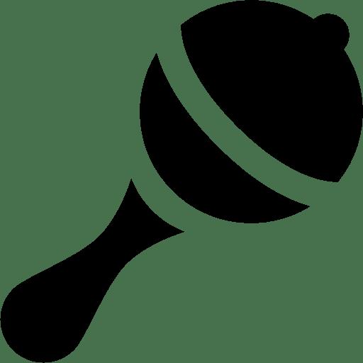 Baby Rattle Icon | Windows 8 Iconset | Icons8