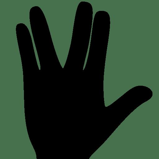 Cinema Star Trek Gesture icon