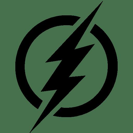 Cinema-The-Flash-Sign icon
