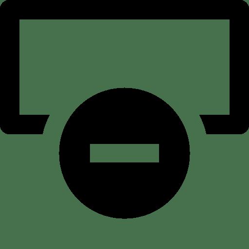 Data-Delete-Row icon