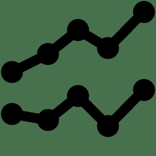 Data Line Chart icon