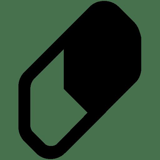 Editing-Eraser icon