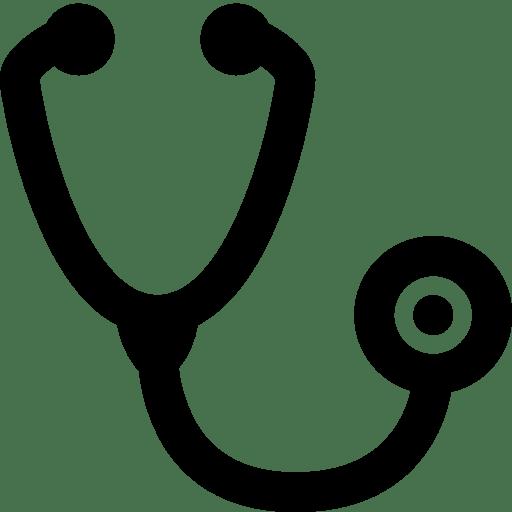 Healthcare-Stethoscope icon
