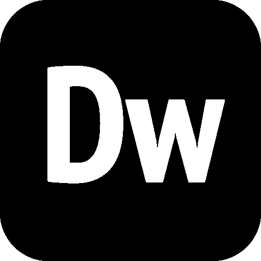 Logos-Adobe-Dreamweaver icon