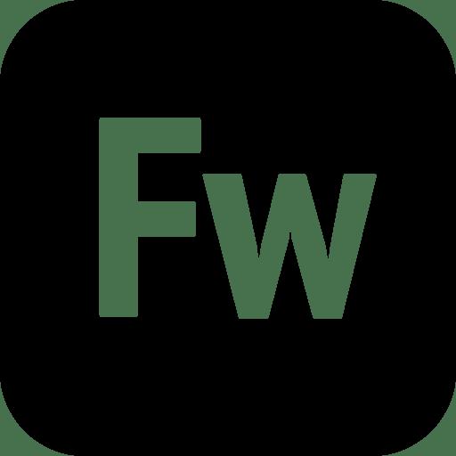 Logos-Adobe-Fireworks icon