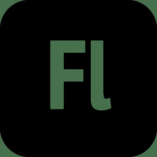 Logos-Adobe-Flash icon