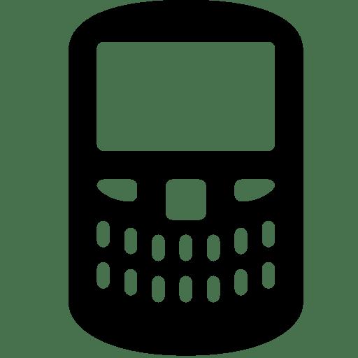 Mobile-Blackberry icon