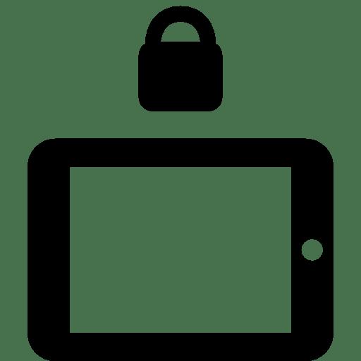 Mobile-Lock-Landscape icon