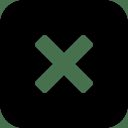 User Interface Close Window icon